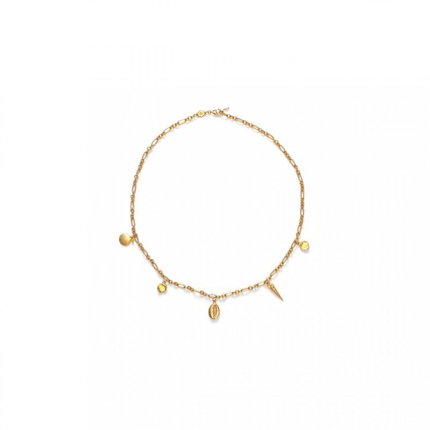Summer Treasure Necklace Gold