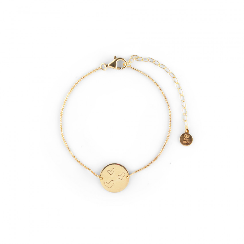 Ellas Coin Bracelet Gold