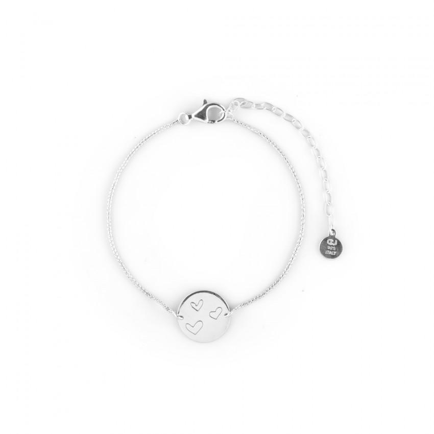 Ellas Coin Bracelet Silver