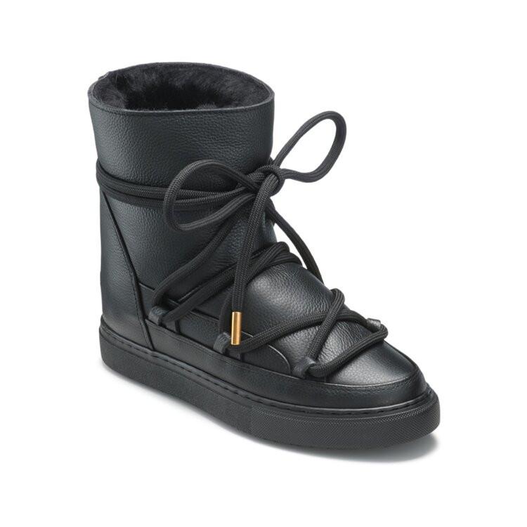 Sneaker Full Leather Wedge