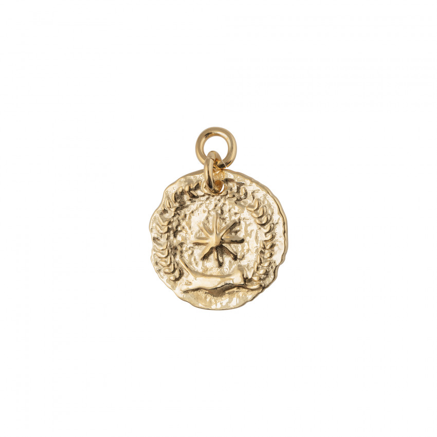 Victory Coin Pendant Gold
