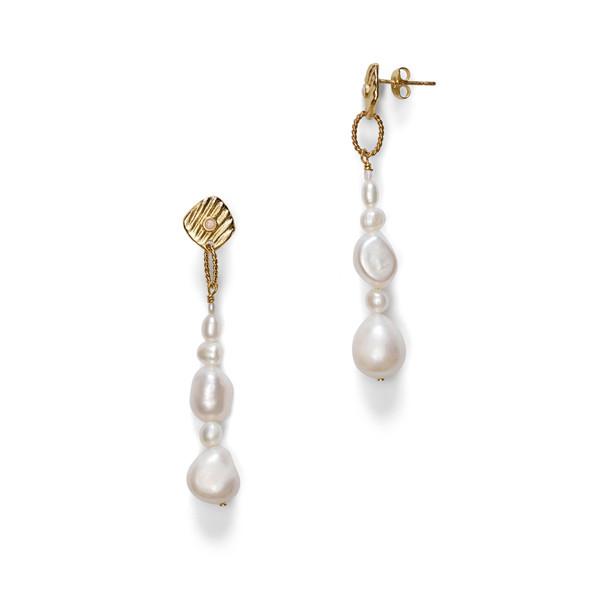 Jet-Set Pearl Earrings