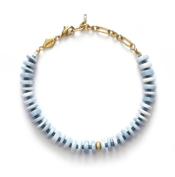 Big Blue Bracelet Gold