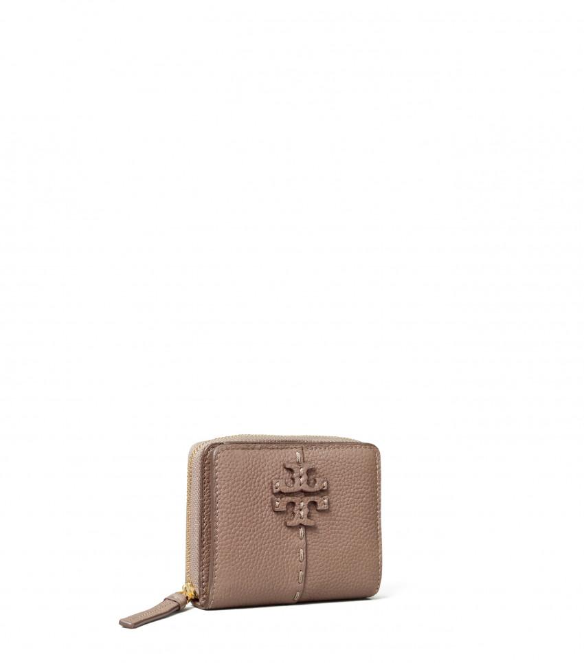 McGraw Bi-Fold Wallet Silver Maple
