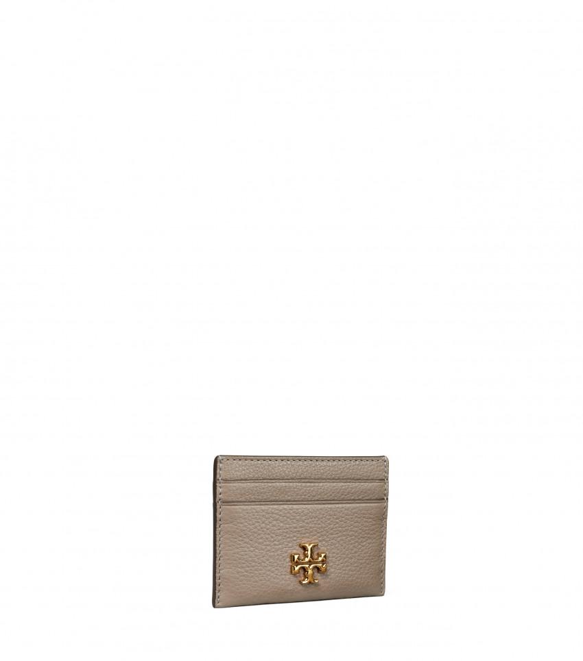Kira Peppled Cardcase Gray Heron